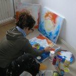 2011, Live Malerei by Elke Trogisch